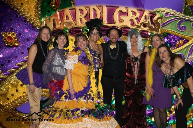 2018 Board Members at Mardi Gras Gala Not pictured:          Deborah Alarcon, Evan Brown